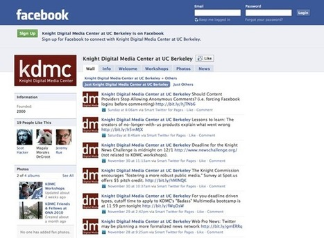 Getting Started with Facebook for Journalists   Knight Digital Media Center   (SPAN) Research List on Citizen Journalism and Media Activism   Scoop.it