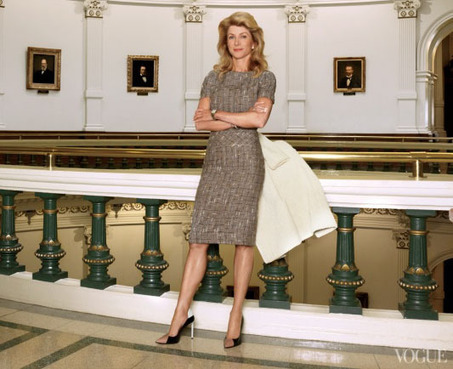 Late-Term Abortions Become Fashionable? Vogue Does Huge Profile of Wendy Davis | Abortion | Scoop.it