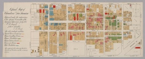 A Map of Vice in San Francisco's Chinatown, 1885 | San Francisco | Scoop.it