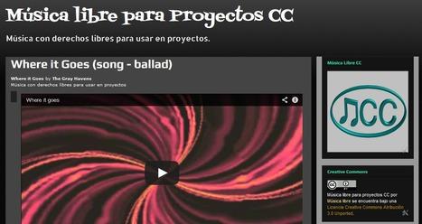 Música con derechos libres para proyectos.- | TIC´s | Scoop.it