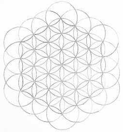 Flower of Life | Artistic Line Designs-all free | Scoop.it