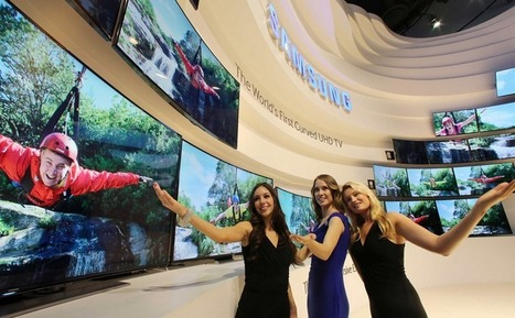 Samsung estrena un televisor UHD 4K 'flexible': de curvo a plano en un paso en Latam Review | Technology  Reviews | Scoop.it