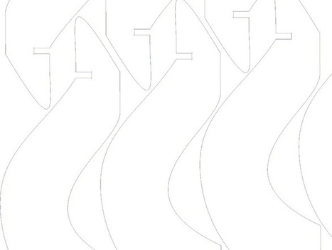 Tulip flatpack vase by Yana - Thingiverse | product design | Scoop.it