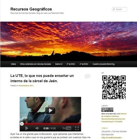 Recursos Geográficos. Blog de Recursos de Ciencias Sociales. | Enseñar Geografía e Historia en Secundaria | Scoop.it