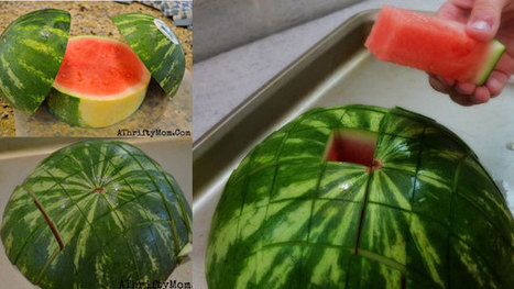 Cut a Watermelon into Sticks (Perfect for Kids and Parties)   Everything   Scoop.it