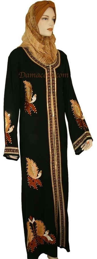 Latest abaya trends from Damaceen   Poundex Furniture -  Offices and homes   Scoop.it