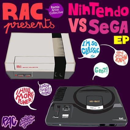Remix Artist Collective: Nintendo VS SEGA EP – GEARFUSE | ShezCrafti | Scoop.it