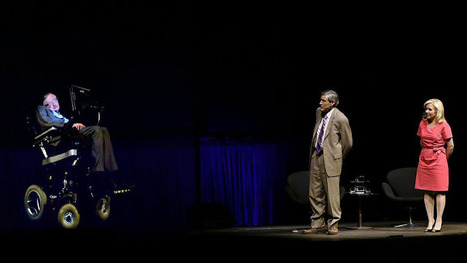 """""""Stephen Hawking appeared via hologram at the Sydney Opera House"""" 