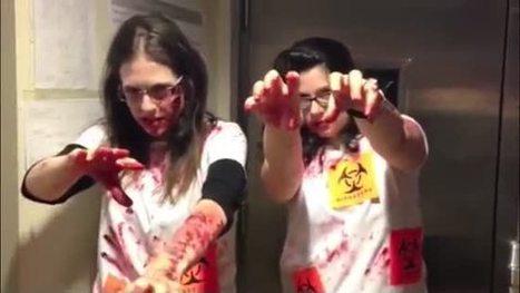 Professeure d'université, Eden Wells prépare ses élèves contre une ... - Gentside | Les zombies | Scoop.it