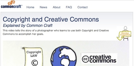 Copyright and Creative Commons | Common Craft | EducaTeK | Scoop.it