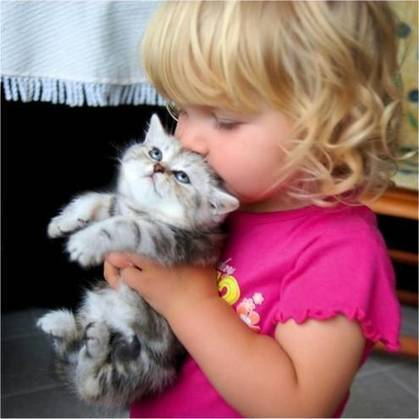 21 Pics of Babies With Kittens That Will Fill Your Heart With Joy | MOVIES VIDEOS & PICS | Scoop.it