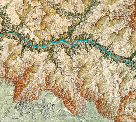Gorgeous Maps Reveal the History of America's National Parks | GMOs & FOOD, WATER & SOIL MATTERS | Scoop.it