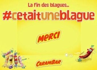 La sale blague de Carambar | Carambar - buzz | Scoop.it