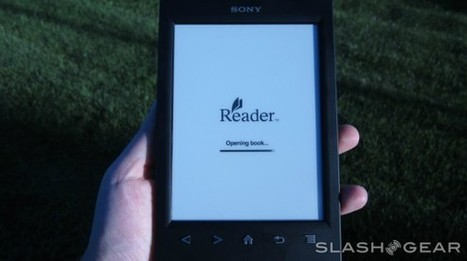 Sony Reader PRS-T2 Review.. serious contender? | Litteris | Scoop.it