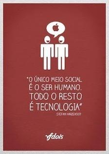 O único meio social é o ser humano. Todo o resto é Tecnologia   Mídias Sociais 2.0   Scoop.it