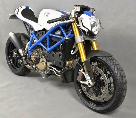 "Custom Ducati 1098 ""Malizia"" by Shed X 