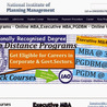 Online Executive MBA Degree from nipm.org.in