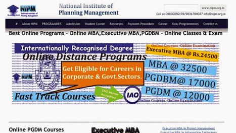 NIPM - Google+ | Online Executive MBA Degree from nipm.org.in | Scoop.it