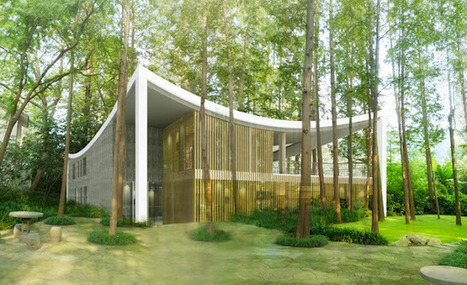 Un centro cultural entre árboles | AteBur | Scoop.it