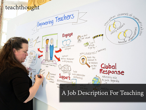 A Job Description For Teaching | Preschool | Scoop.it