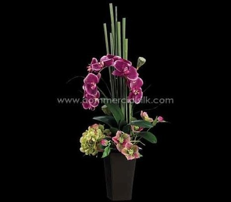 Artificial Phalaenopsis Orchid with Silk Hydrangea Flowers | Home Improvement - Landscaping | Scoop.it
