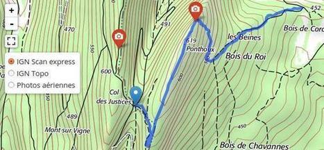 Cartographie avec les couches Géoportail/IGN et Leaflet | Outils cartographiques | Scoop.it