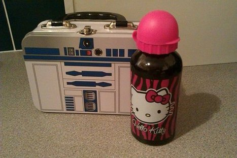 If you love someone with a mental health problem, you can say a lot with a star wars lunchbox | Time To Change | Odd Socks Day | Scoop.it