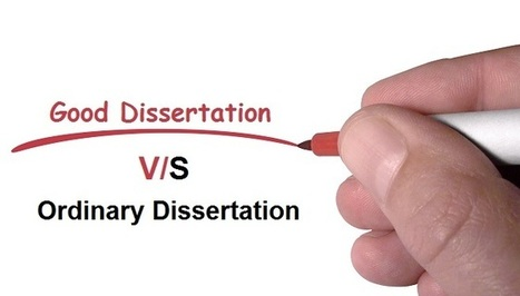 Underlining difference between Good & Ordinary dissertation   Perfect Writing Services   Scoop.it
