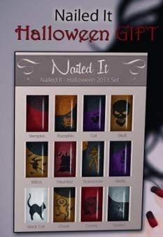 Second Life Freeness Huntress: Free Halloween nails | Second Life Freeness Huntress | Scoop.it