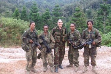 Papua New Guinea's first female army officers to graduate next year - Radio Australia | Asian Food Markets | Scoop.it