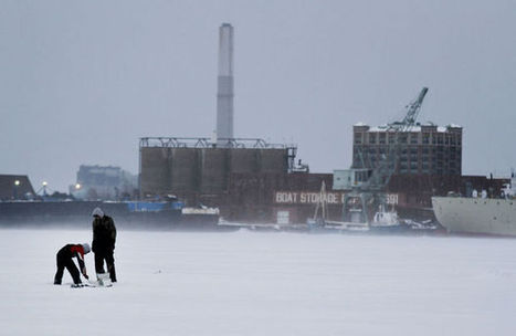 What we love about Muskegon: Ice fishing | Lake Effect.... Winter Style | Scoop.it