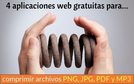 Aplicaciones web para comprimir PNG, JPG, PDF y MP3 | ED|IT| | Scoop.it