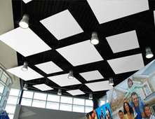 Multi Shape Ceiling Clouds | Custom Integration | Scoop.it