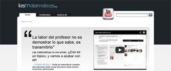 Revista Educación 3.0, recursos educativos : Lasmatemáticas.es, un portal con videotutoriales para Secundaria | Matemática nivel secundario | Scoop.it