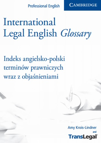 (PL) (EN) (PDF) - International Legal Glossary | Amy Krois-Lindner | Glossarissimo! | Scoop.it