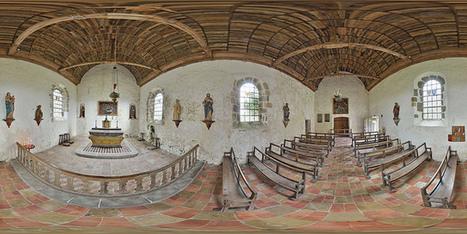 Chœur de la chapelle Saint-Laurent du château de Pirou - France par Pascal Moulin Photographe - Panorama 360 x 180° | moulin360panoramic | Scoop.it
