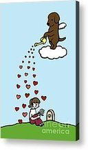 Chocolate Labrador Angel And Mom Digital Art by Naomi Ochiai - Chocolate Labrador Angel And Mom Fine Art Prints and Posters for Sale   Pet Bereavement   Scoop.it