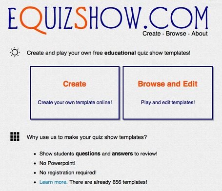 eQuizShow Online Templates | Education Technologies | Scoop.it