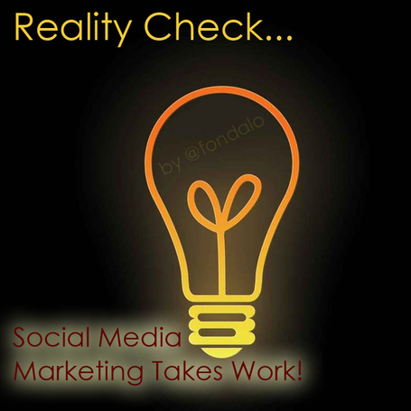 Reality Check: Daily Required Social Media Marketing Activity | Public Relations & Social Media Insight | Scoop.it