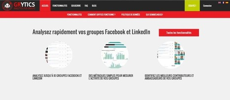Grytics, un outil destiné aux groupes Facebook et Linkedin | Mon Community Management | Scoop.it