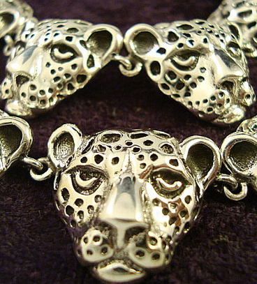 Molina Jaguar Necklace | Taxco.925 Mexican Silver Store | Scoop.it
