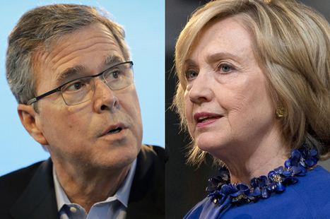Surprise, surprise: The media is treating Jeb Bush & Hillary Clinton very differently | A Voice of Our Own | Scoop.it