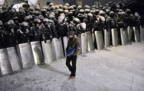This one map helps explain Ukraine's protests | Mrs. Watson's Class | Scoop.it