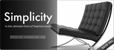 Benefits of Buying Chairs for Sale | Stylish Barcelona Chair | Scoop.it