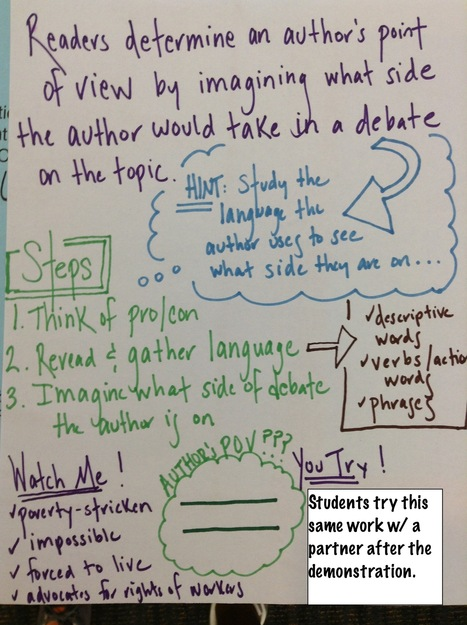 Teaching Beyond the Main Idea: Nonfiction and Point of View (Part I) | Common Core ELA News | Scoop.it