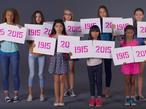 Girls shocked to find lack of progression in women's rights between 1915 and 2015 | EuroMed gender equality news | Scoop.it