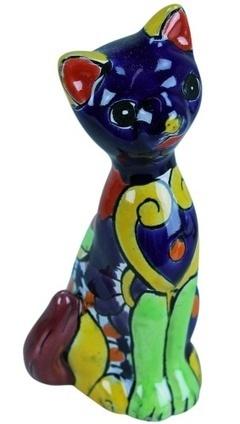 Mexican Talavera Cat | Mexican Decor | Scoop.it
