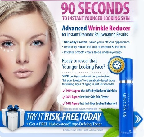 Hydroxatone 90 Second Wrinkle Reducer Review - Does it Work | jase carols | Scoop.it