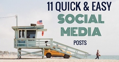 11 Quick and Easy Social Media Status Updates| | SEO Tips, Advice, Help | Scoop.it