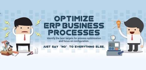 Visualistan: Optimize ERP Business Processes [Infographic] | Latest Infographics | Scoop.it